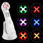 Косметологічний масажер для обличчя і тіла з ефектом Lift Up Beauty instrument електроміостімуляция світлотерапія RF - ліфтинг - зображення 12
