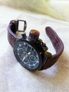 Наручные армейские часы АМСТ (AMST) коричневые - изображение 5