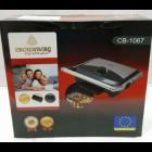 Гриль електричний притискної Crownberg CB-1067 з терморегулятором 2000 Вт (par_CB 1067) - зображення 7