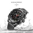 Чоловічі годинники Naviforce Tesla Black NF9153 - изображение 8