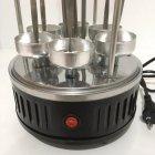 Электрошашлычница на 6 шампуров шашлык дома 1000 Вт Domotec (RZ602) - изображение 7