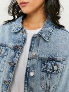 Джинсовая куртка Tally Weijl SJADEBOXY-EHBL L (7612959111558) - изображение 3