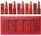 Набір помад 3CE Lip Color Mini Kit 5 штук червона палітра - зображення 1