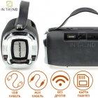 Переносная колонка Hopestar H36 акустическая USB c функцией TWS и Power Bank + мощный блютуз громкоговоритель - влагозащитная IPX6 с громким стереозвуком и FM-радио - Музыкальная портативная Bluetooth система, Чёрный - изображение 9