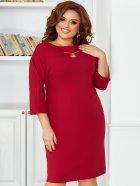 Платье ALDEM 1860 52 Бордовое (2000000550992_ELF) - изображение 2