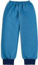 Пижама (футболка с длинными рукавами + штаны) Бемби ПЖ41 92 см Голубо-синяя (13041011537.481) - изображение 3