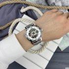 Часы наручные Forsining GMT1201 Silver-White - изображение 5