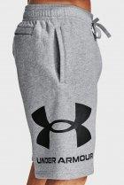 Мужские серые шорты UA Rival FLC Big Logo Shorts Under Armour M 1357118-011 - изображение 3