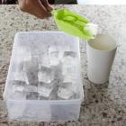 Форма для льда Kitchenio с контейнером и лопаткой Салатовая (2000992406338) - изображение 4