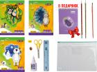 Набор Бумажный бум для творчества ZiBi с бумагой и картоном в пластиковой папке (ZB.9972) - изображение 3