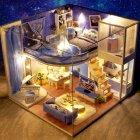Румбокс 3D-конструктор DIY House дом для самостоятельной сборки Dream of starry sky (30113) - изображение 1