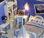 Румбокс 3D-конструктор DIY House дом для самостоятельной сборки Dream of starry sky (30113) - изображение 3
