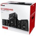 Акустична система Trust Vigor 5.1 Surround Speaker System Black (22236) - зображення 5