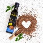 Масло из семян льна Olibo 250 мл (4820184310018) - изображение 2