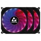 Набор вентиляторов Chieftec Tornado RGB 3in1 (CF-3012-RGB), 120x120x25, 6pin - изображение 1