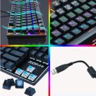 Клавиатура игровая Механическая Проводная ZUOYA X51 87 с RGB-подсветкой и защитой от фиктивных нажатий Anti Ghosting - изображение 3