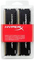 Оперативная память HyperX DDR4-2400 16384MB PC4-19200 (Kit of 4x4096) Fury Black (HX424C15FB3K4/16) - изображение 4