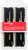 Оперативная память HyperX DDR4-2666 16384MB PC4-21300 (Kit of 2x8192) Fury Black (HX426C16FB3K2/16) - изображение 4