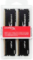 Оперативна пам'ять HyperX DDR4-2400 8192MB PC4-19200 (Kit of 2x4096) Fury Black (HX424C15FB3K2/8) - зображення 4