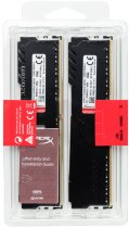 Оперативная память HyperX DDR4-3200 16384MB PC4-25600 (Kit of 2x8192) Fury Black (HX432C16FB3K2/16) - изображение 5