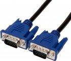 Кабель ProfCable VGA Plug — VGA Plug Video Cable 2 м Black (5-200) - зображення 4