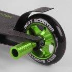 """Самокат трюковий 86380 """"Best Scooter"""", HIC-система, ПЕГІ, алюмінієвий диск і дека, колеса PU, d=110 мм - зображення 3"""