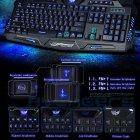 Провідна ігрова клавіатура з 3-я підсвічуваннями і мишкою Atlanfa AT-V100P Комплект Original (100P) - зображення 5