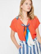 Блузка Koton 8YAK68051PW-401 34 Red (8681890691886) - зображення 3