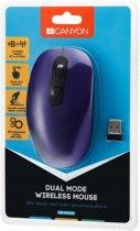 Миша Bluetooth+Wireless Canyon CNS-CMSW09V USB Violet - зображення 5