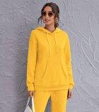 Худі жіноче утеплене Tint yellow Berni Fashion (L) Жовтий (57090) - изображение 2