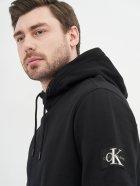 Худи Calvin Klein Jeans Monogram Sleeve Badge Hoodie J30J314036-BAE XL Ck Black (8719852242477) - изображение 4