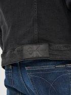 Джинсова куртка Calvin Klein Jeans Foundation Jacket J30J317247-1BY L Denim Black (8719853601426) - зображення 4