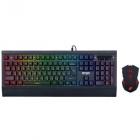 Ігровий набір клавіатура і мишка Gaming Squad ERGO MK-540 з підсвічуванням+ ПОДАРУНОК (6439) gl78 - зображення 4