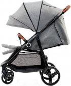 Прогулочная коляска KinderKraft Grande Gray (158339) - изображение 4
