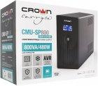 ДБЖ Crown CMU-SP800Euro LCD USB - зображення 3