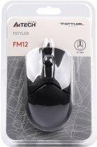 Миша A4tech FM12 USB Black (4711421956673) - зображення 8