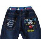 Теплые джинсы Mickey Mouse Hot Pet для мальчика 110 см Синие 5565 - изображение 4