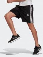 Шорты Adidas M 3S FT SHO GK9597 M Black/White (4064044961716) - изображение 3
