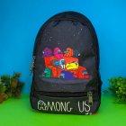 Дитячий рюкзак для хлопчика амонг ас (дитячий портфель для хлопчика Among Ac в садок і школу) - зображення 1