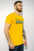 Футболка мужская Time of Style 85F268 XL Желтый - изображение 4