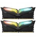Модуль пам'яті Team DDR4 16Gb (2x8) T-Force Night Hawk RGB Black 3200 MHz (TF1D416G3200HC16CDC01) - зображення 2