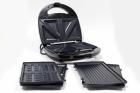 Електричний прижимний гриль вафельниця сендвічниця мультимейкер Crownberg CB 1075 700-800 Вт - зображення 2