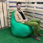 Кресло Груша Kmeshok 130/90 см Салатовый - зображення 3