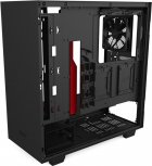 Корпус NZXT H510 Matte Black-Red (CA-H510B-BR) - изображение 11