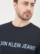 Футболка Calvin Klein Jeans 10564.3 S (44) Темно-синяя - изображение 4