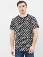 Футболка Calvin Klein Jeans Aop Diagonal Tee J30J318066-BEH L Pvh Black (8719853724088) - изображение 1