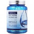Ампульная сыворотка с коллагеном и гиалуроновой кислотой FarmStay Collagen & Hyaluronic Acid All-In-One Ampoule (8809469770002) - изображение 1
