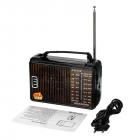 Радиоприемник GOLON RX-608 Портативный с телескопической антенной всеволновой Цифровое мини радио на батарейках и сети - изображение 8