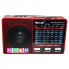 Цифрове міні радіо GOLON RX-8866 Радіоприймач всехвильовий портативний з телескопічною антеною з USB mp3, WMA бездротовий FM/AM мережевий і акумуляторний - зображення 3