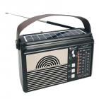 Цифровое мини радио GOLON RX-BT660T + BLUETOOTH Радиоприемник всеволновой портативный с телескопической антенной с USB mp3, WMA беспроводной FM/AM сетевой и аккумуляторный - изображение 2